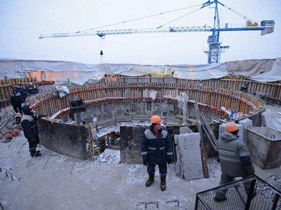 Строительство объектов космодрома Восточный
