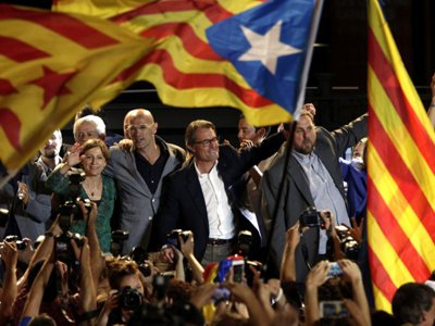 Парламент Каталонии принял резолюцию о независимости от Испании