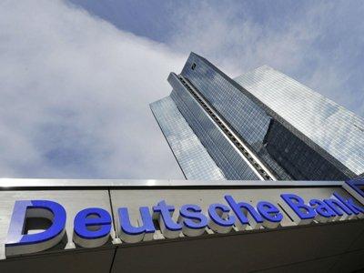 "Deutsche Bank урегулировал с властями США ""ипотечное дело"""