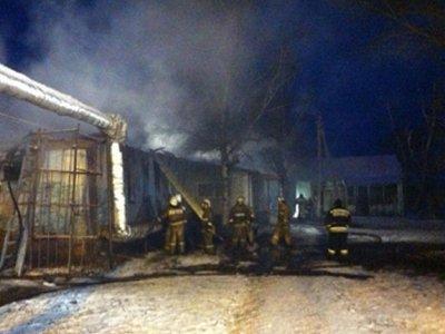 При пожаре в интернате под Воронежем погибли 23 пациента, возбуждено дело