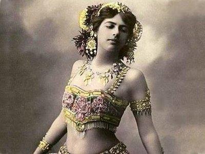Известность Мата Хари принес кинематограф, который сумел органично передать образ бесстрашной шпионки, прекрасной танцовщицы и роковой женщины