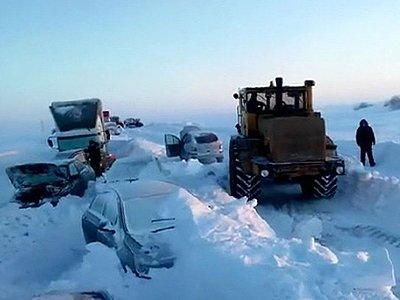 СКР проверяет действия МЧС во время снежного затора в Оренбурге