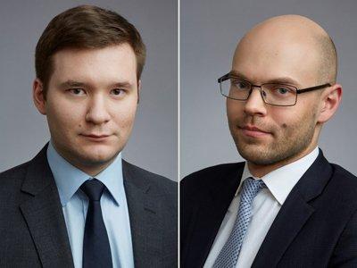 Роман Черленяк (на фото слева) продолжит руководить практикой корпоративного и договорного права, а его коллега Василий Раудин   группой по делам о банкротстве