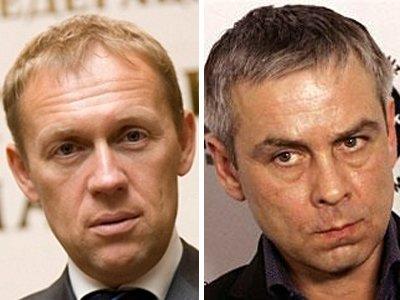 Андрей Луговой и Дмитрий Ковтун (слева направо)