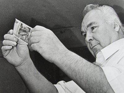 Самый знаменитый фальшивомонетчик России - Виктор Баранов.