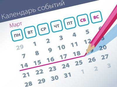 Самые заметные события прошлой недели (14.03-18.03)