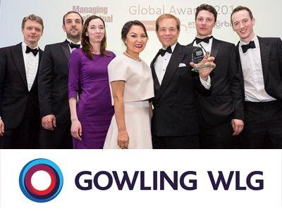 Gowling WLG стала фирмой года в России в сфере интеллектуальной собственности