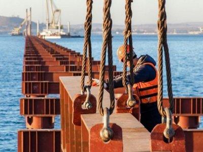 Финансирование строительства Керченского моста приостановлено