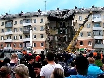 По делу об обрушении дома в Междуреченске задержан собственник помещения
