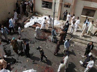 Более 50 человек погибли в результате теракта в Пакистане