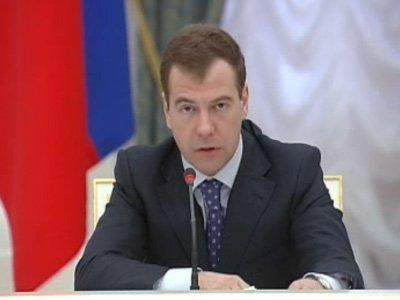 медведев отстранил от должности