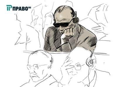 На Нюрнбергском процессе главе немецких юристов Гансу Франку пришлось выступить в роли подсудимого