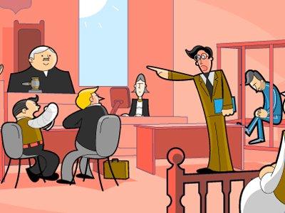 """Судят участника процесса, пообещавшего убить прокурора """"из мести за обвинительную речь"""""""